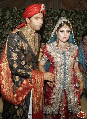 Re Pakistani Cricketers Wedding Pictures Mohammad Asif