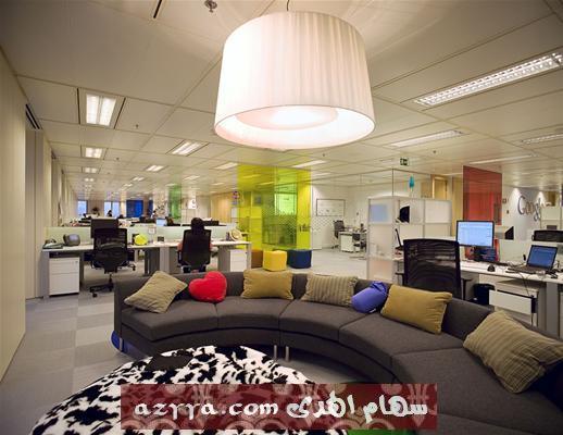 ديكور إدارة Google في ميلانو خليكم معي ديكور إدارات goooogle