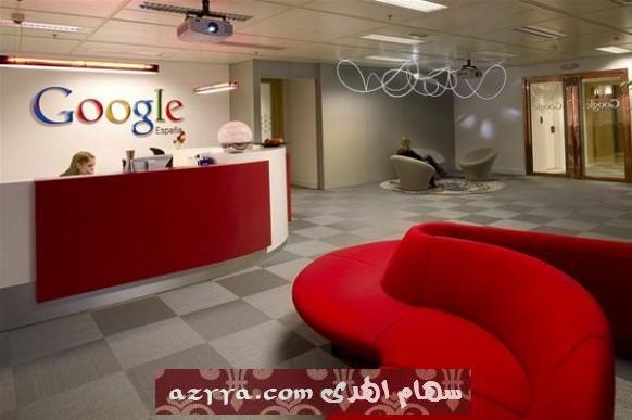 السلام عليكم ورحمة الله وبركاته ديكور إدارة Google في مدريد