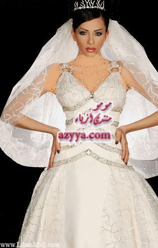 فساتين زواج من تصميم عدنان عازار لسنه 2010 وحصريا