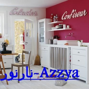 تصاميم مطبخية بالوان زاهية (2)