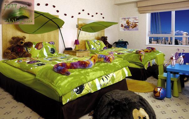 فخمه2013اجمل غرف نوم 2013-غرف نوم باللون الاحمر 2013ثريات لغرف الاطفال