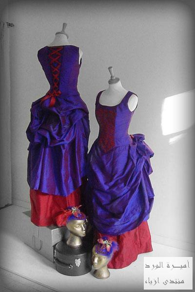 2012فستان زفاف مميز للبيع فساتين فرنسيه موديل قديم
