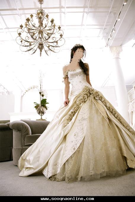 لعرايسنا الحلوات جمعت لكم مجموعة من أحدث الموديلات لفساتين الزفاف