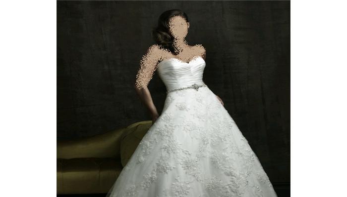 اخر تشكيلة فساتين زفاف 2011 من Allure Bridals