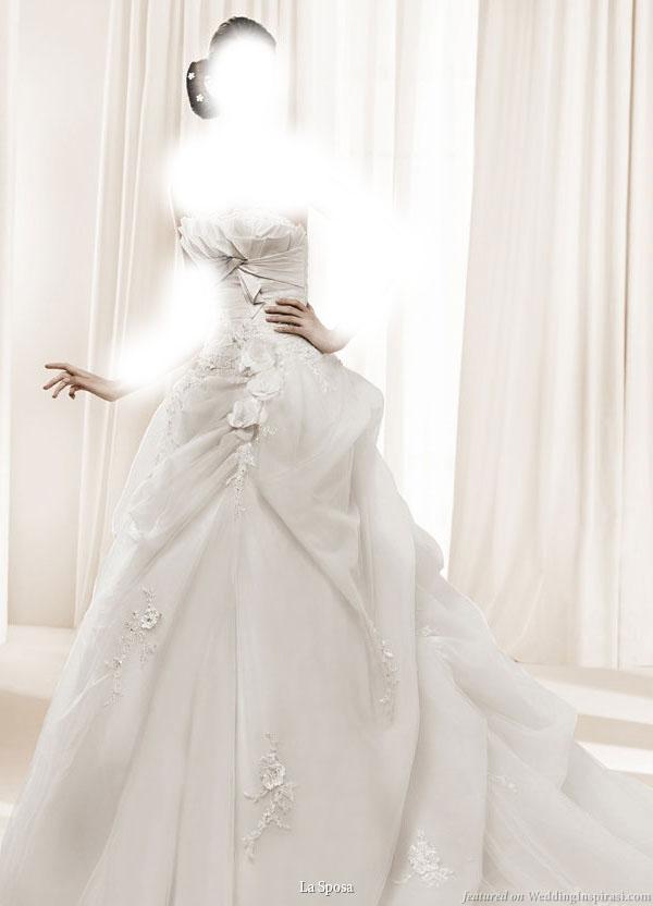 مجموعة من أرقى فساتين زفاف