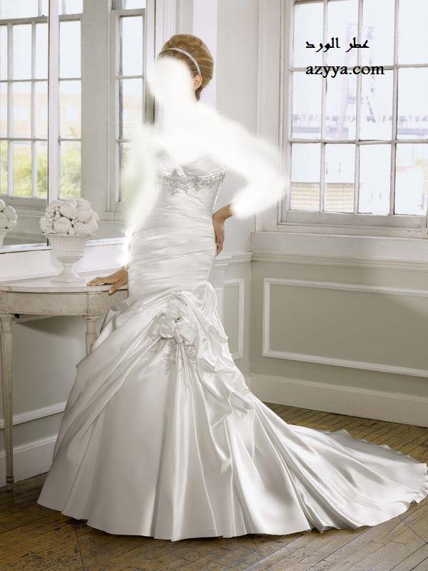 فساتين زفاف موديلات خيالية