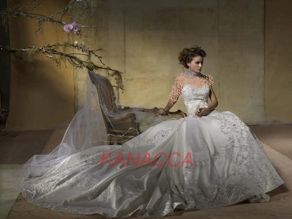 2013اشيك فساتين العروس2013- فساتين العروس الجديدة 2013فساتين العروس النعومه 2013-