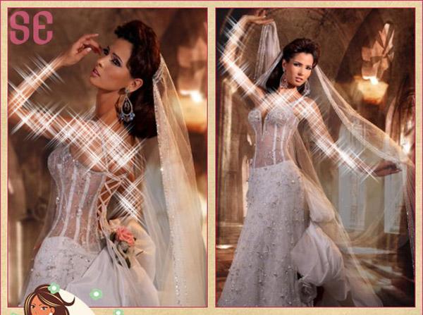 المصمم الشهير روني ريشا 2013 - فساتين زفاف كشخه فساتين