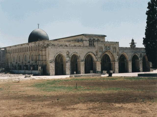 في التفريق بين المسجد الأقصى(الحرم الثالث للمسلين) ومسجد قبة الصخرة
