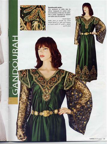 عليكم بعض الازياء الجزائرية التي تخلط بين التقليدية و الحديثة