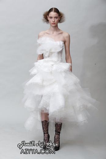 مجموعة ازياء فساتين موديلات 2012 فساتين ناعمة قصيرة 2012 فستان