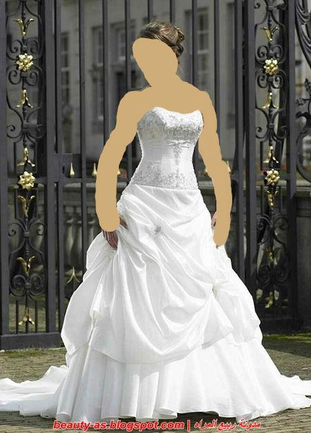 كل فتاة تمنى ان يكون فستانها بهذا الجمال