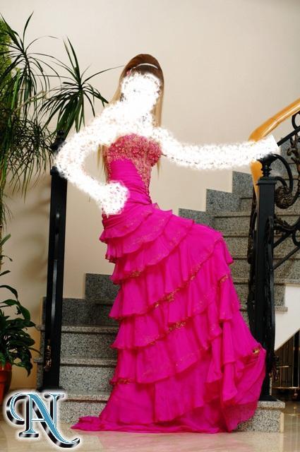 2013قبل وضع الفساتين العاريه تفضلي ه نآفساتين من الي صعب