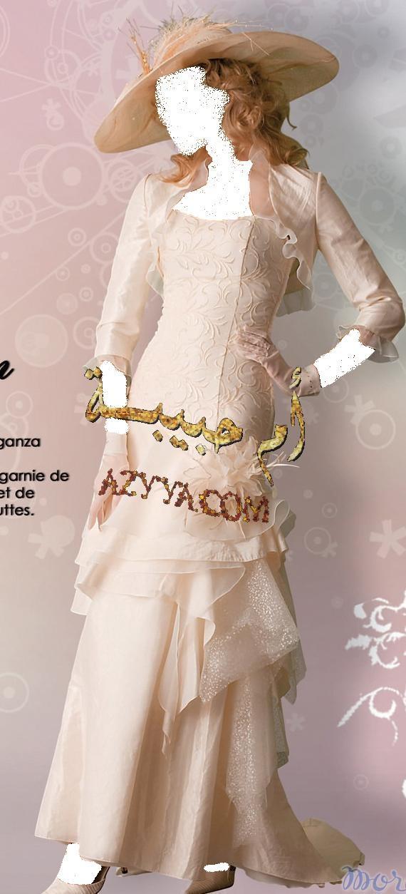 فساتين زفاف مميزة للعروسة المميزة لأزياء فقط
