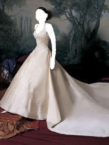 فساتين زواج موديلات 2009 كأنك اميرة من القرن 19 فساتين