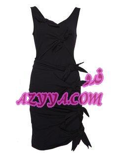 والأسود يميز تشكيله أزياء مونيك ولييه 2012-2013فساتين قصيرةبالدانتيل الأسودالسواد تحت