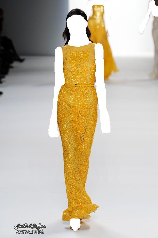 إيلي صعب تشكيلة فساتين و أزياء أنيقةازياء شانيل الجديدة