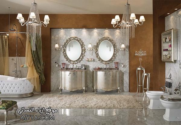 صور ديكورات فخمة جدا و ديكور حمامات ملكية فخمة تصاميم