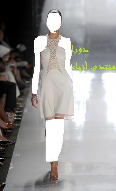السكري والابيضالي صعب بتصاميمه في اسبوع الموضة في باريس حصري