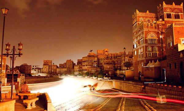 اليمن صنعاء القديمه مملكة كنده حضرموت وادي بنا أب جامع