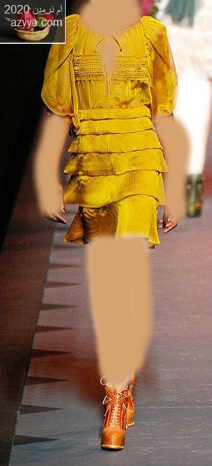 كريستيان ديوربإطلالة الأميرات فساتين زفاف من Fashion Forwardكوليكشن فساتيين اللون