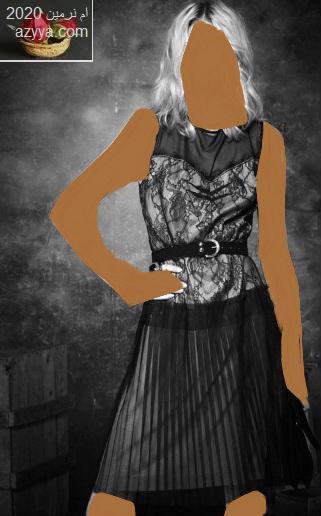 مع ورق الجدران ...فساتين سهرات بالصور مجموعه جديدهفساتين سهرات شياكة