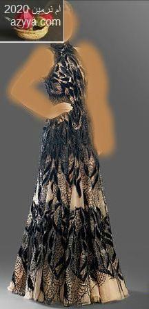 زهير مراد ,جديد 2014فساتين سهرة باللون البنفسي والاسود ,للمصمم جورج