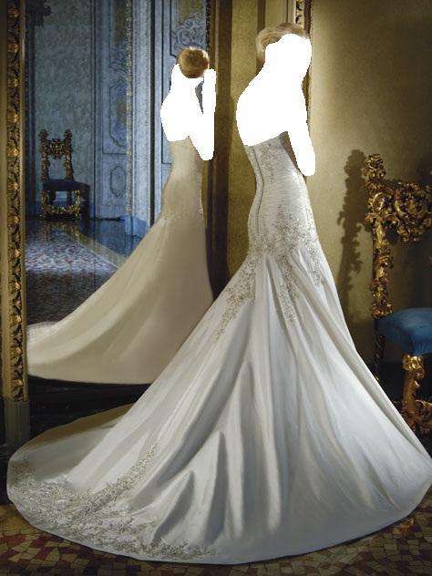 في قسم أزياء العروس فساتين زفاف كيوت بسيطة وناعمة .........
