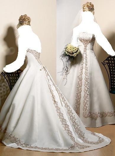 إن شاء الله تعجبكم. فسساتين أعراس راقية