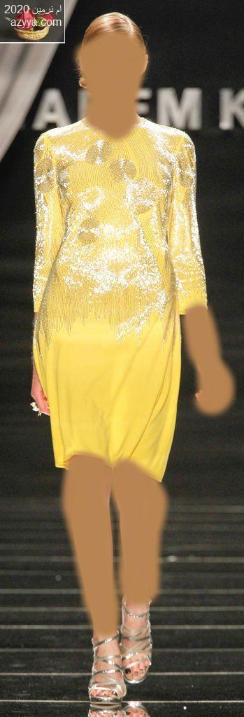 """على عرش الفساتين الصيفيةفساتين naeem khan لسهرات صيف 2012...حصريا""""2""""فساتين naeem"""