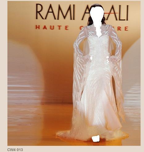 في قسم أزياء العروس افراح وتهاني ( فستان زفاف )