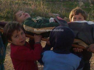 هكذآ يلعب أطفال فلسطين لآ عجب ! ! !