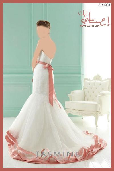 واختها.فساتين الزفاف لـ ريم اكرا- شتاء 2013فساتين زفاف جمالها من