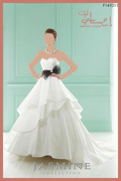 للعرسفساتين زفاف قمة الرقيفساتين زفاف فرنسيةأشيك فساتين زفاففساتين زفاف صيف