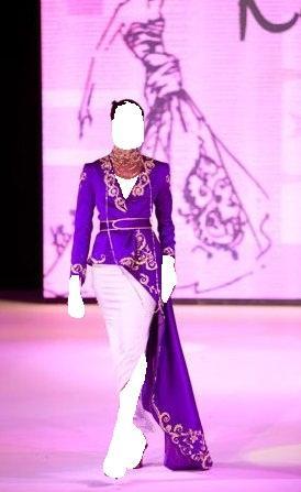 أناقة وعصريةهذاالشتاء.!إطلالات عصرية جذابه للعروس بالشعر القصير.ملابس جزائرية تقليديةمجموعة ازياء