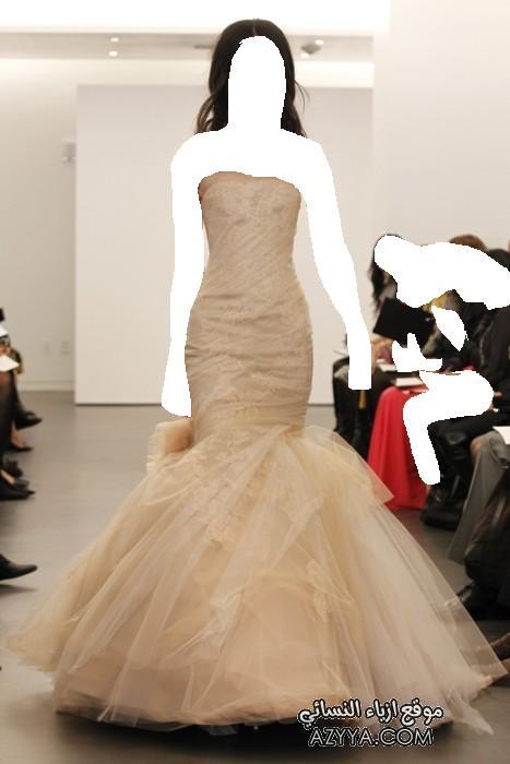 زفاف للمصممة الشهيرة فيرا وانغ 2 فساتين سهرات 2012 ماركه