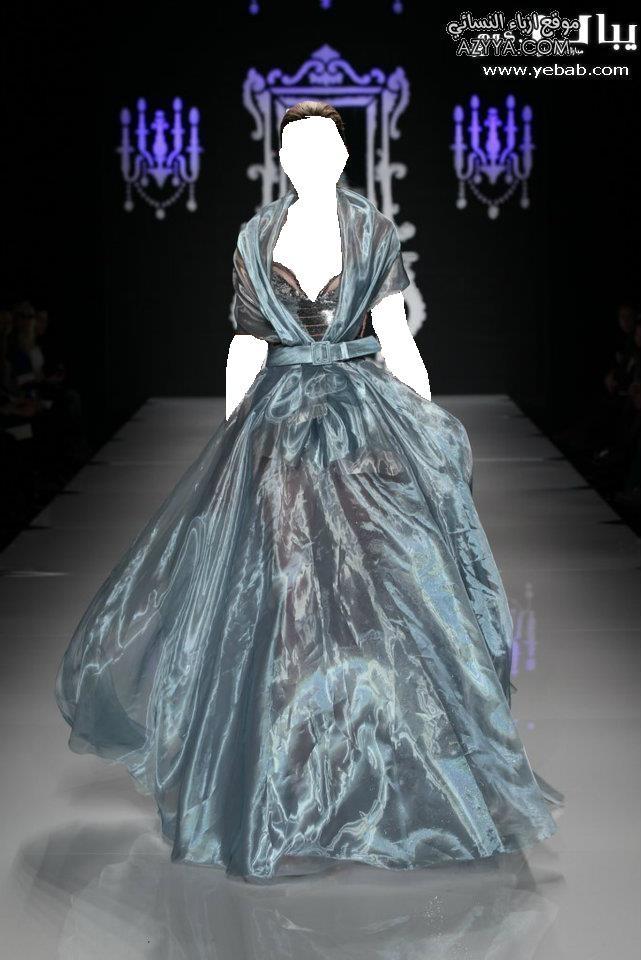 وصيف 2012فساتين السهرة للمصمم روبير أبي نادر لصيف 2013اجمل فساتين
