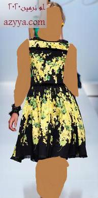 الربيع تجننموديل فستان يجنن بألوان الربيعتألقي مع عودة الربيعنحو الربيعاستقبلي