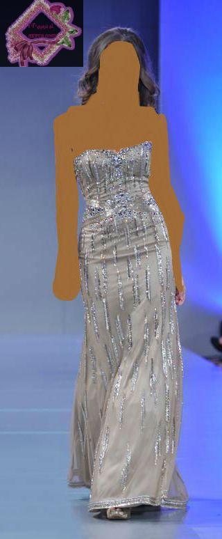 باريس للهوت كوتور 2014فساتين سهرة ربيع 2013 لـ