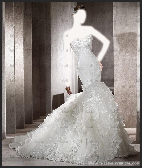 فساتين زفاف 2012 بغاية الججمال هااااااي صبايا جبتلكم صور فساتين