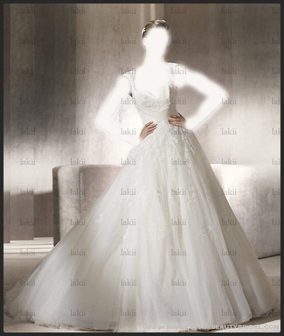 في عرضها بدبيفساتين زفاف راقية وستايلفساتين زفاف جمالها من الآخرفساتين