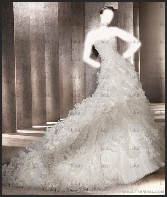 زفاف رائعه لعروس أنيقهفساتين زفاف هاي كلاسفساتين زفاف لمن تعشق