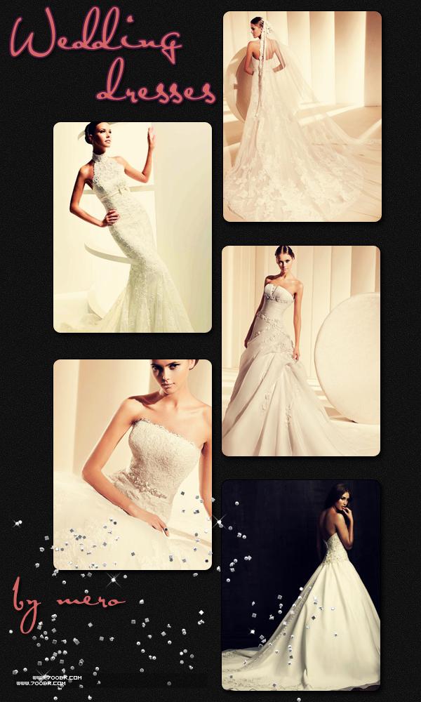 الخريف لـ Monique Lhuilier للعروس واختها.فساتين زفاف للعروس الرومانسيةفساتين الزفاف
