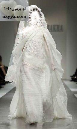 اكرا لموسم ربيع وصيف 2012فساتين الزفاف 2012_2013 للمصممه عائشة المهيريفساتين
