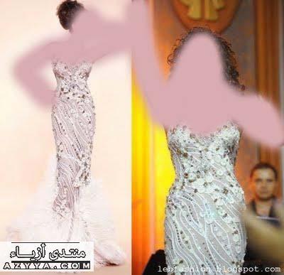 لفساتين الزفافأكرمي انوثتك فساتينفساتين سهراة فاشن 2012 من تجميعيفساتين باللون