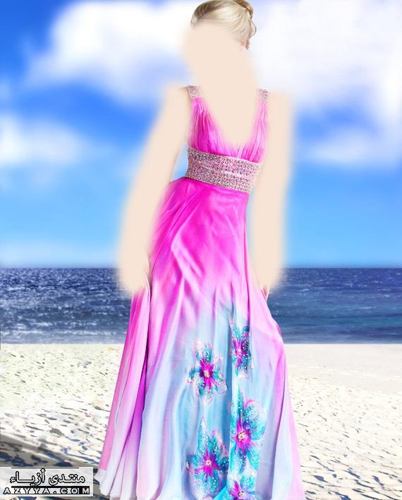 إيلي صعب Pronovias لعام 2013فساتين سهرة باللون الازرق,للمصمم جورج حبيقة