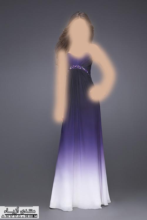 لصيف 2014لعاشقات اللون الرمادي فساتين سهرة للمصمم طوني وردفساتين سهرة