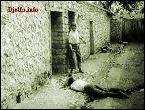 المعبرة عن تضحيات الجزائرين المليون ونصف لمليون شهيد انظروا قسوة