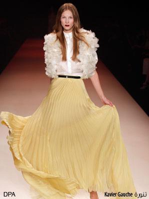 يشهد عالم الموضة هذا الصيف عودة قوية للتنورة البليسيه، فمصممو